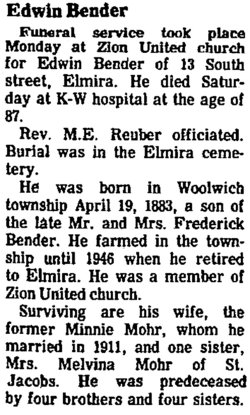 Edwin Bender