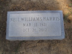 Nell Claire <i>Williams</i> Harris