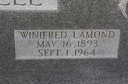 Winifred <i>Lamond</i> Decell