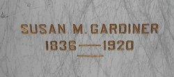 Susan M <i>Reeder</i> Gardiner