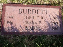Timothy Duane Burdett