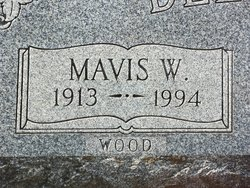 Mavis W <i>Hausknecht</i> Belcher