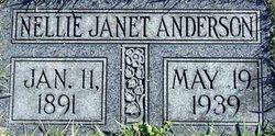 Nellie Janet Anderson