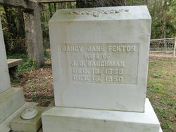 Nancy Jane Nannie <i>Fenton</i> Baughman
