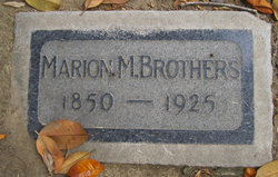 Marion McMasters Brothers