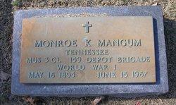 Monroe Kinion Mangum