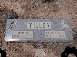 Emma <i>Moodey</i> Miller