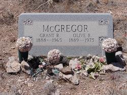 Olive Beatrice <i>Parks</i> McGregor