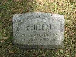 Bessie <i>Harris</i> Behlert