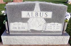 Minnie Cordelia <i>Wyss</i> Albus