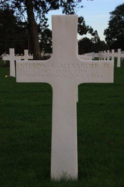 Pvt Nelson A Alexander, Jr