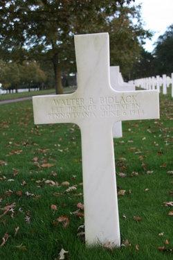 1Lt Walter B Bidlack