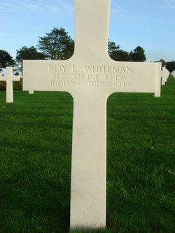 PFC Roy L Whiteman