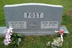 Calvin Wray Post