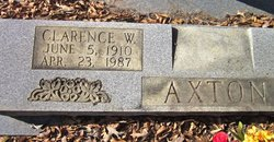 Clarence W. Axton