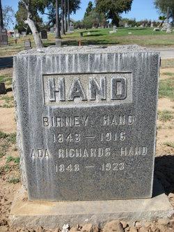 Ada Byron <i>Richards</i> Hand