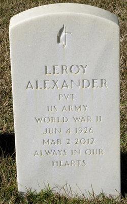 Leroy Babe Alexander