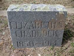 Elizabeth <i>Shaw</i> Chaddock