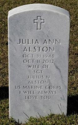 Julia Ann <i>Coe</i> Alston