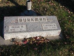Nellie M. <i>Birdsley</i> Burkman