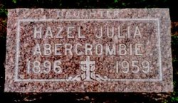 Hazel Julia <i>Feigert</i> Abercrombie