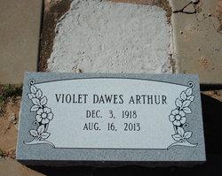Violet Lurline <i>Dawes</i> Arthur