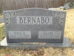 Hazel I. <i>James</i> Bernabo