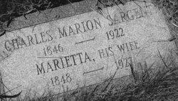 Charles Marion Sargent