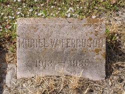 Muriel W. Ferguson