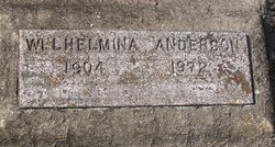 Wilhelmina Anderson