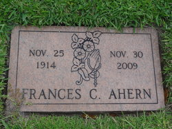 Frances C Ahern