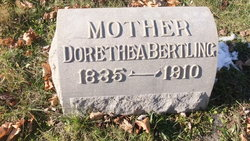 Dorothea Dorothy Bertling
