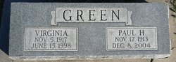 Alice Virginia <i>Phillips</i> Green