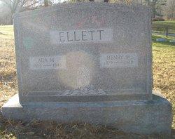 Ada <i>Morgan</i> Ellett