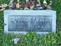 Carrie White <i>Baxter</i> Eells