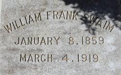 William Frank Swaim