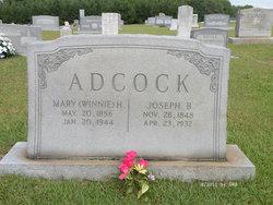 Mary Winifred Winnie <i>Hicks</i> Adcock