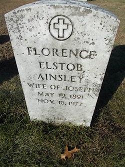 Florence <i>Elstob</i> Ainsley