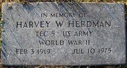 Harvey W Herdman
