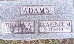 Clarence M Adams