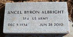 Ancel Byron Albright