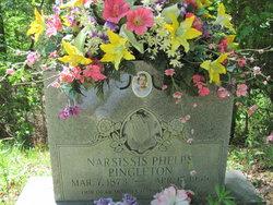 Mary Narcissis <i>Phelps</i> Pingleton