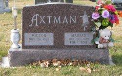 Marian E <i>Burckhard</i> Axtman