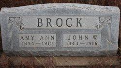 Amy Ann <i>Langley</i> Brock