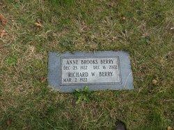 Anne <i>Brooks</i> Berry