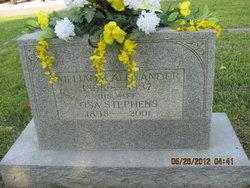 Mattie Osa <i>Stephens</i> Alexander