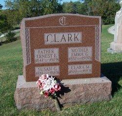 Emma Gertrude <i>Hewitt</i> Clark