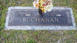 Alice Margaret <i>Herrod</i> Buchanan