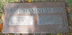 Addison Bee Chamness, Sr