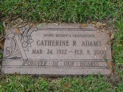 Catherine R Adams